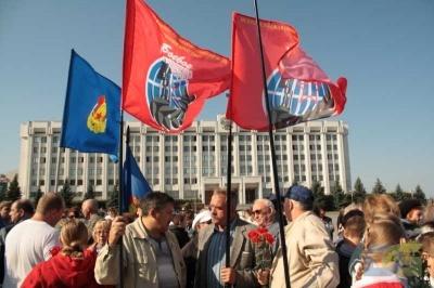 Возложение в честь окончания Второй мировой войны 2.09.2010-1