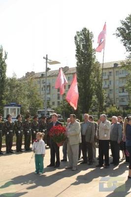 Возложение в честь окончания Второй мировой войны 2.09.2010-10