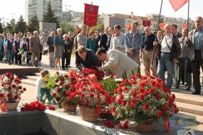 Возложение в честь окончания Второй мировой войны 2.09.2010-14