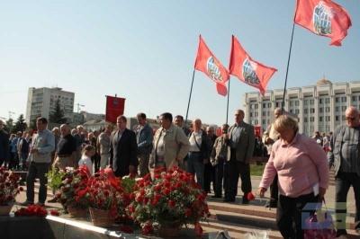 Возложение в честь окончания Второй мировой войны 2.09.2010-15