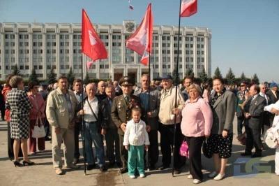 Возложение в честь окончания Второй мировой войны 2.09.2010-19