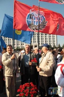 Возложение в честь окончания Второй мировой войны 2.09.2010-3