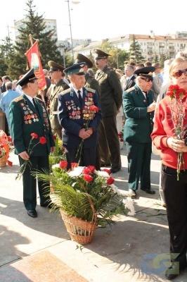 Возложение в честь окончания Второй мировой войны 2.09.2010-6