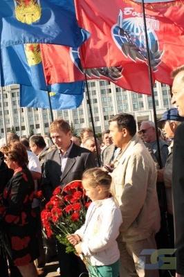 Возложение в честь окончания Второй мировой войны 2.09.2010-8