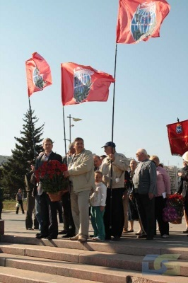 Возложение в честь окончания Второй мировой войны 2.09.2010-9