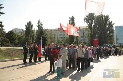 Возложение в честь окончания Второй мировой войны 2.09.2010-11