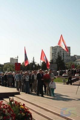 Возложение в честь окончания Второй мировой войны 2.09.2010-12